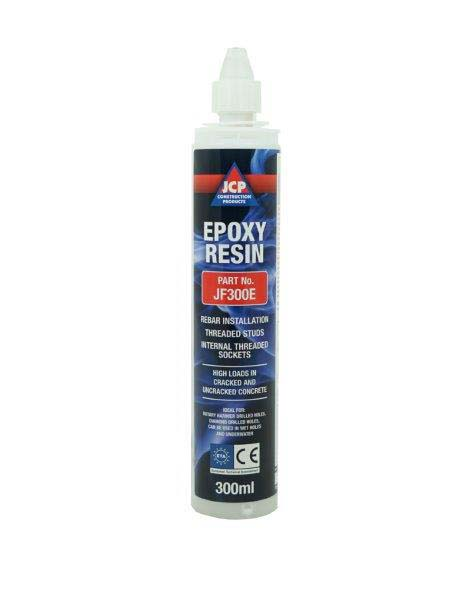 JCP JF300E Chemical Anchors - Chemical Injection Resin - Pure Epoxy Resin 300ml