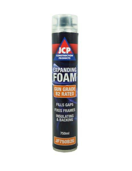 JCP JF750B2G Expanding PU Foam - B2 Fire Rated Gun Applied