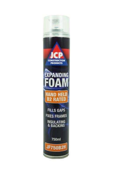 JCP JF750B2H Expanding PU Foam - B2 Fire Rated Hand Held