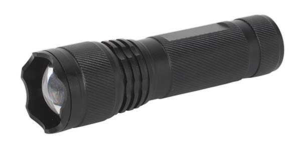 Sealey - LED444  Aluminium Torch 3W XPE CREE LED Adjustable Focus 3 x AAA Cell
