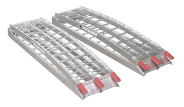 Sealey - LR680  Aluminium Loading Ramps 680kg Capacity per Pair