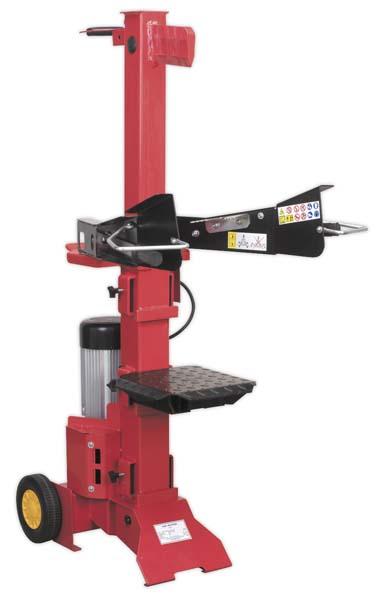 Sealey - LS1050V  Log Splitter 5.5tonne 1050mm Capacity Vertical Type