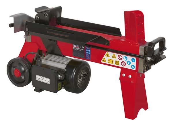 Sealey - LS370H  Horizontal Log Splitter 4tonne 370mm Capacity
