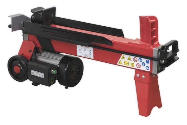 Sealey - LS520H  Horizontal Log Splitter 5tonne 520mm Capacity