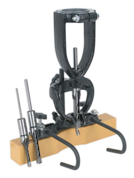 Sealey - MA10  Wood Mortising Attachment 40-65mm with Chisels