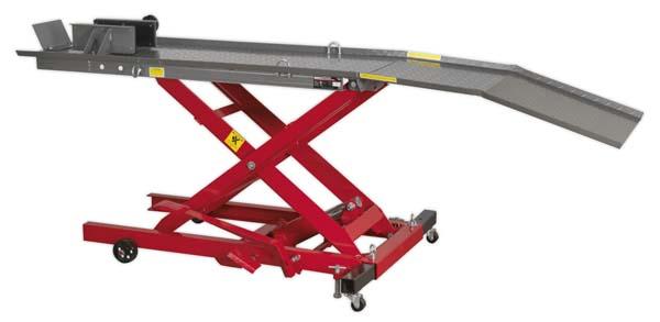 Sealey - MC365  Motorcycle Lift 365kg Capacity Hydraulic