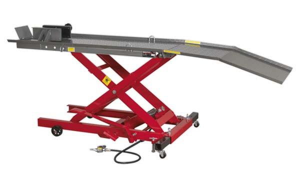Sealey - MC365A  Motorcycle Lift 365kg Capacity Air/Hydraulic