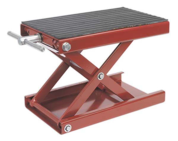 Sealey - MC5908  Scissor Stand for Motorcycles 450kg