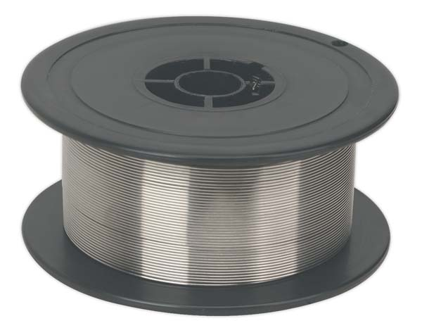 Sealey - MIG/1K/SS08  Stainless Steel MIG Wire 1kg 0.8mm 308(S)93 Grade