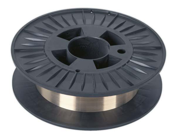 Sealey - MIG/4K/BW08  Copper Silicon Bronze MIG Wire 4kg 0.8mm C9 Grade