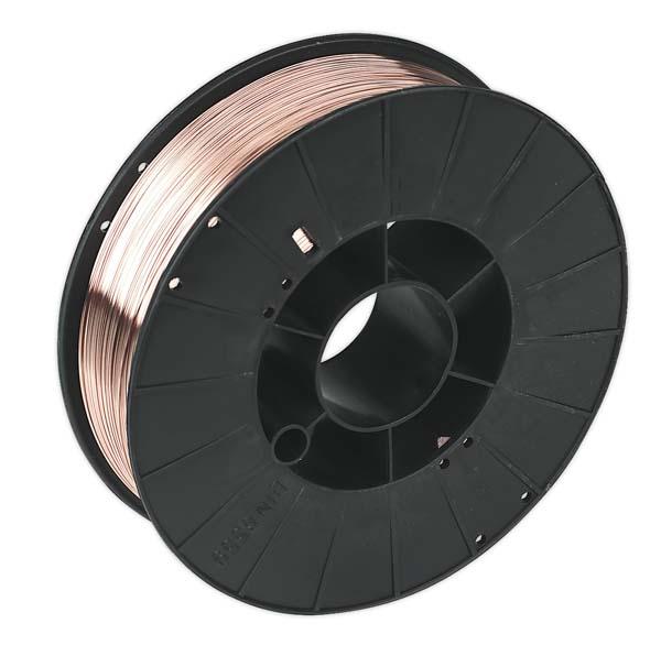 Sealey - MIG/777706  Mild Steel MIG Wire 5kg 0.6mm A18 Grade