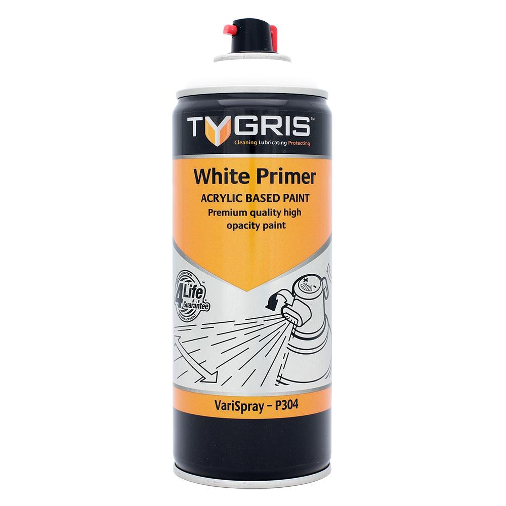 TYGRIS  White Primer Paint 400ml  P304