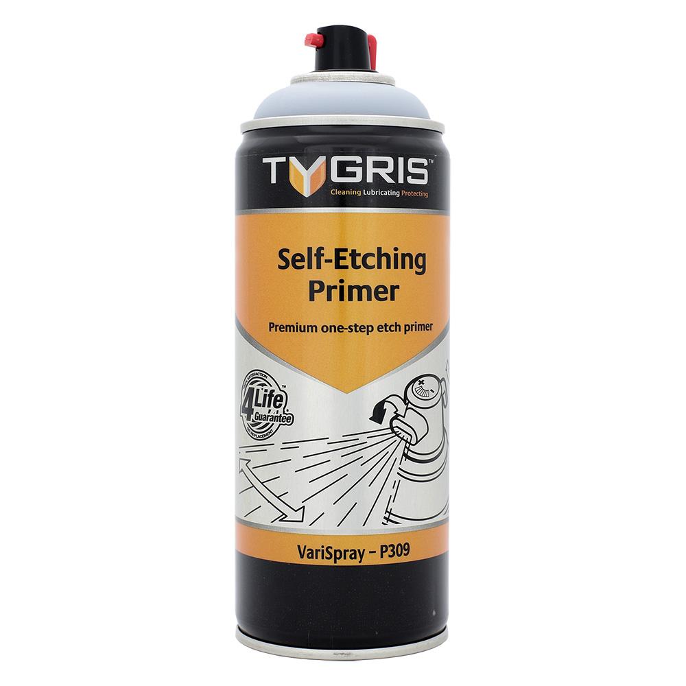 TYGRIS  GREY Etching Paint 400ml Aerosol  P309