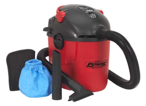 Sealey - PC100  Vacuum Cleaner Wet & Dry 10ltr 1000W/230V