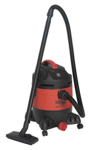 Sealey - PC300  Vacuum Cleaner Wet & Dry 30ltr 1400W/230V
