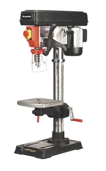 Sealey - PDM125B  Pillar Drill Bench 16-Speed 1050mm Height 230V