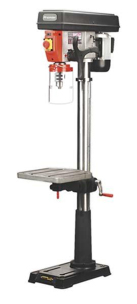 Sealey - PDM240F  Pillar Drill Floor 16-Speed 1635mm Height 230V