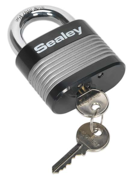 Sealey - PL403  Zinc Coated Steel Body Padlock 63mm