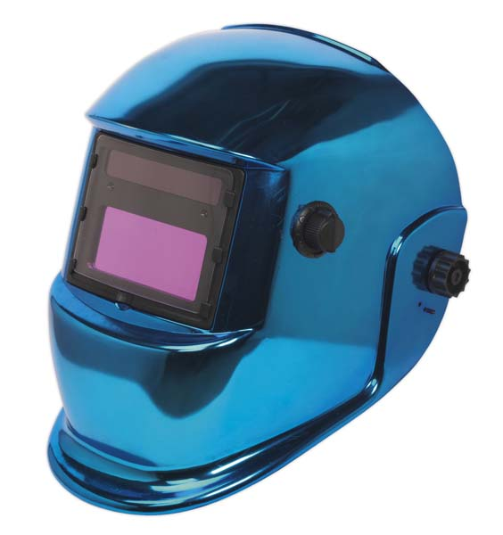 Sealey - PWH598B  Welding Helmet Auto Darkening Shade 9-13 - Blue