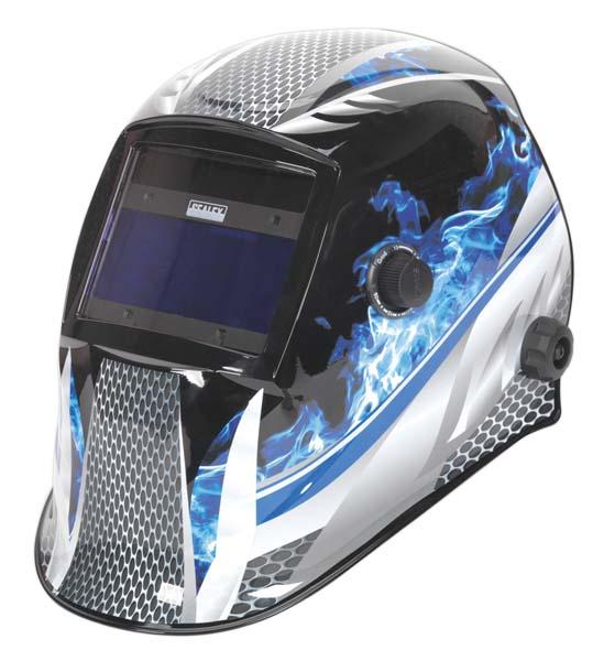 Sealey - PWH601  Welding Helmet Auto Darkening Shade 9-13