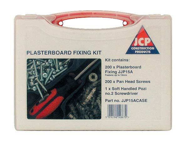 JCP JJP15ACASE  200 J-Plug Plasterboard Kit
