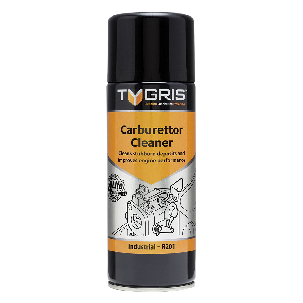 TYGRIS  R201  Carburettor Cleaner  400ml Aerosol