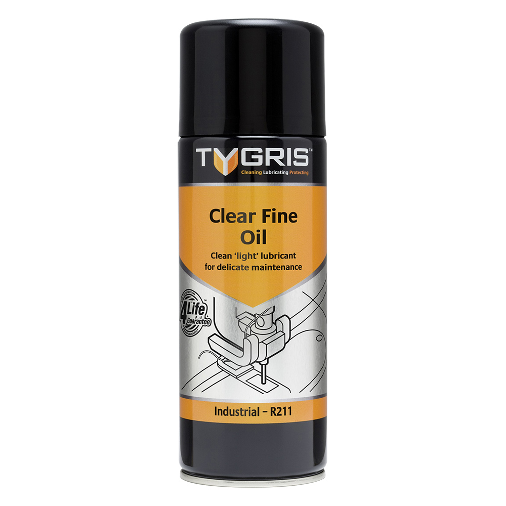 TYGRIS  R211  Clear Fine Oil  400ml Aerosol