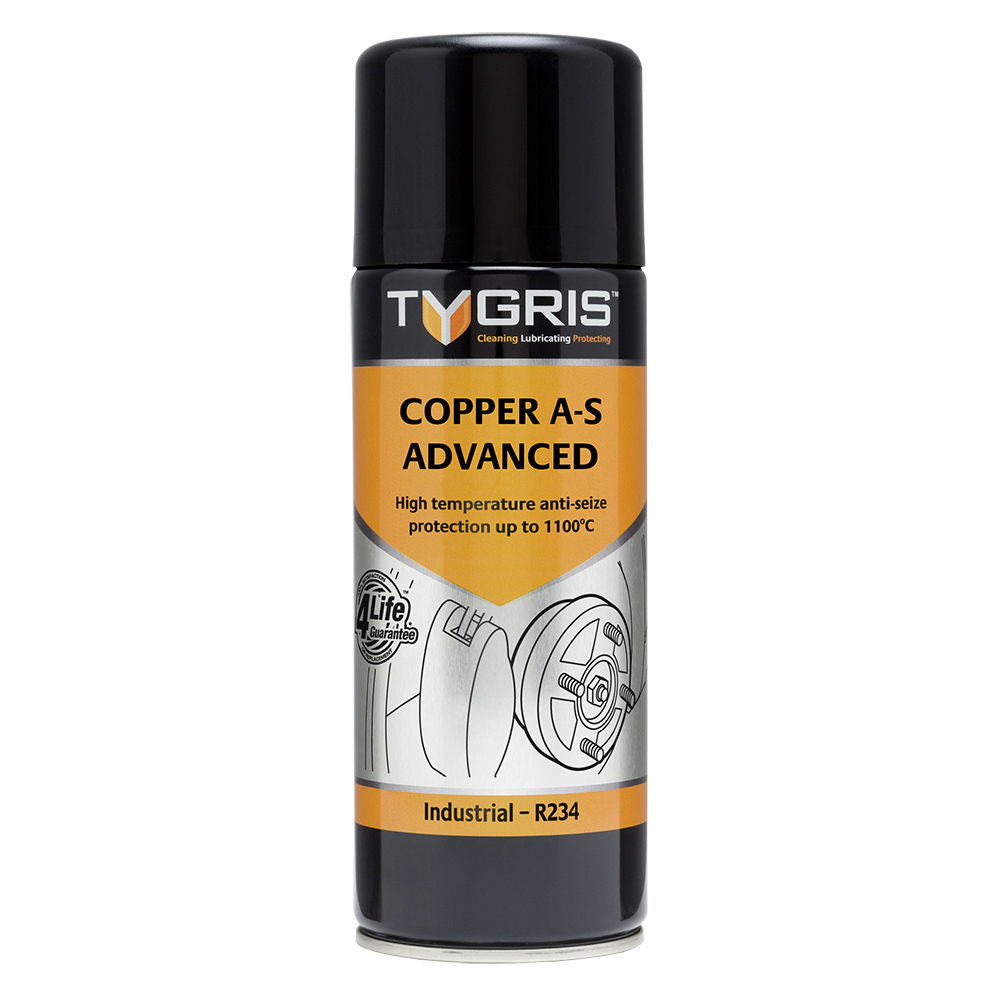 TYGRIS  R234  Copper Anti-Seize  400ml Aerosol