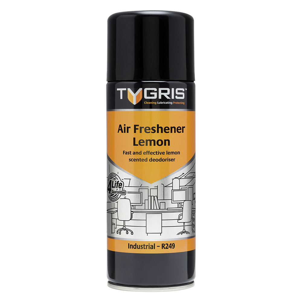 TYGRIS  R249  Air Freshener - Lemon  400ml Aerosol