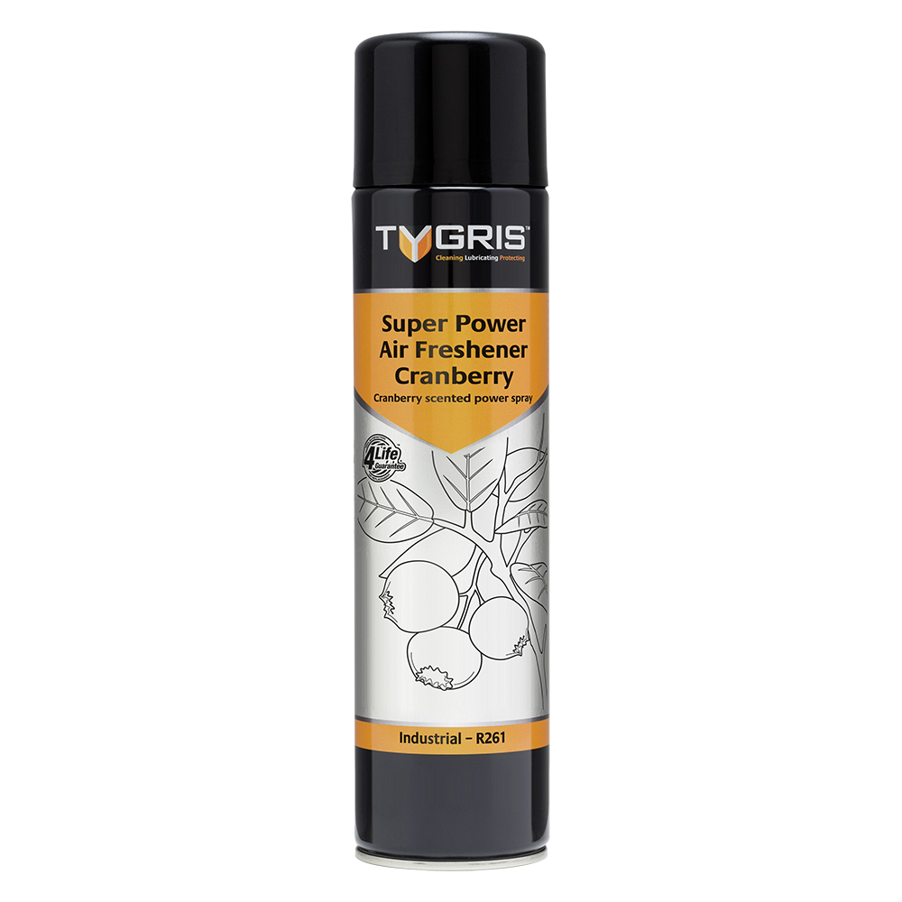 TYGRIS  R261  Super Power Air Freshener - Cranberry  750ml Aerosol