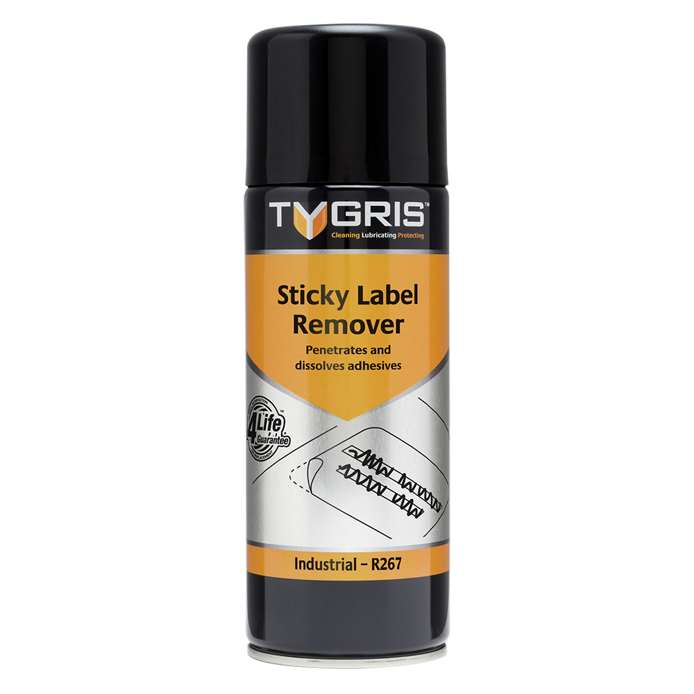 TYGRIS  R267  Sticky Label Remover  400ml Aerosol