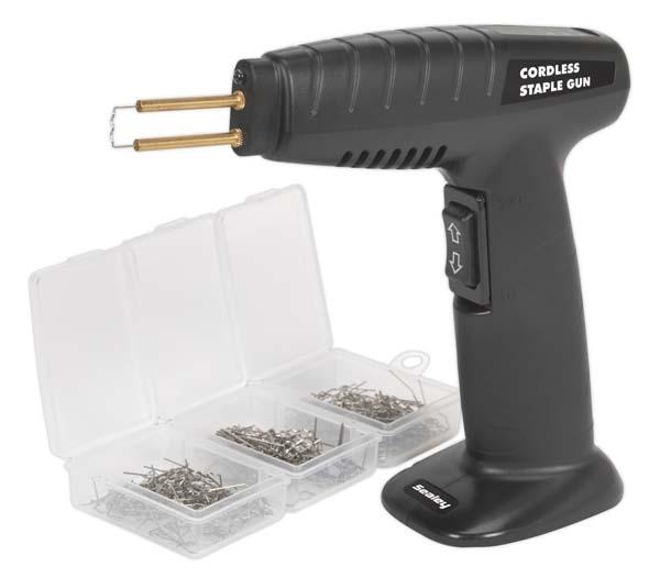 Sealey - RE024  Plastic Repair Hot Staple Gun - Cordless