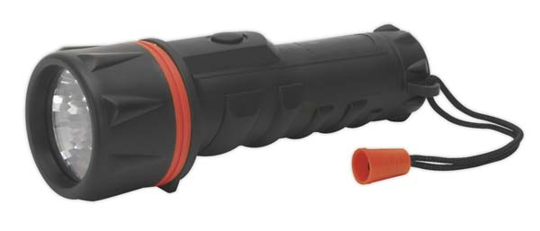 Sealey - RT207  Rubber Torch 2 x D Cell