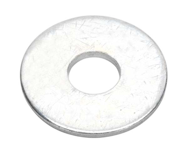Sealey - RW825  Repair Washer M8 x 25mm Zinc Plated Pack of 100