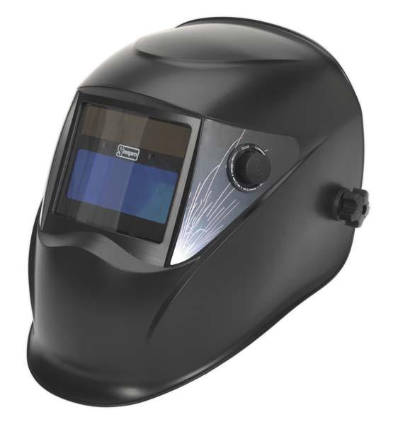 Sealey - S01001  Welding Helmet Auto Darkening Shade 9-13