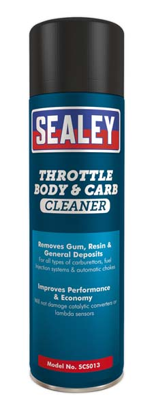 Sealey - SCS013  Throttle Body & Carburettor Cleaner 500ml Pack of 6