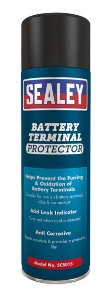 Sealey - SCS015  Battery Terminal Protector 500ml Pack of 6