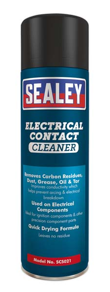 Sealey - SCS021  Electrical Contact Cleaner 500ml Pack of 6