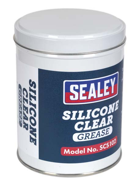 Sealey - SCS102  Silicone Clear Grease 500g Tin