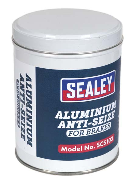 Sealey - SCS103  Aluminium Anti-Seize Compound 500g Tin