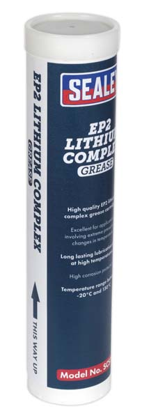 Sealey - SCS106  EP2 Lithium Complex Grease Cartridge 400g