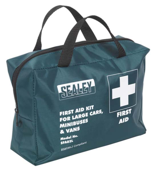 Sealey - SFA02L  First Aid Kit Large for Minibuses & Coaches - BS 8599-2 Compliant
