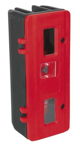 Sealey - SFEC01  Fire Extinguisher Cabinet - Single