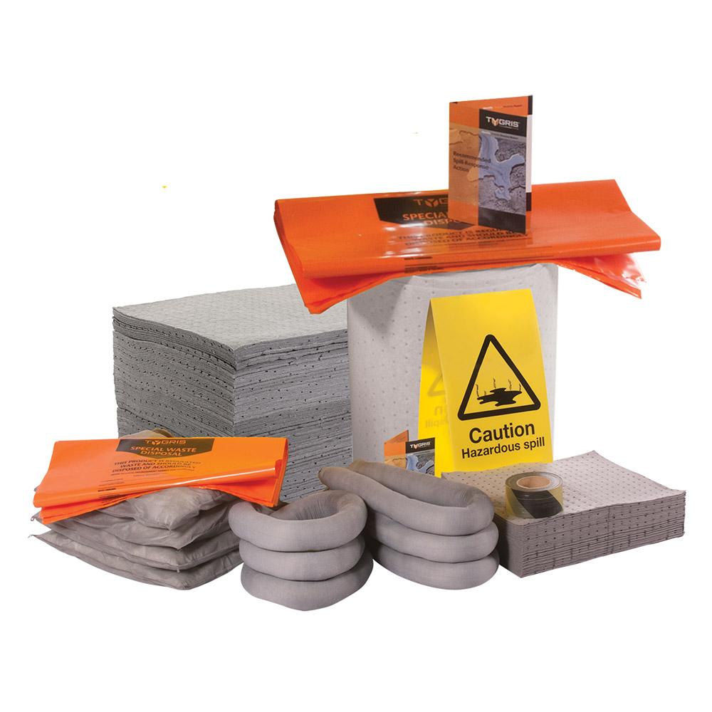 TYGRIS Chemical Spill Kit Refill - 1000 Litre SK1000(U)R
