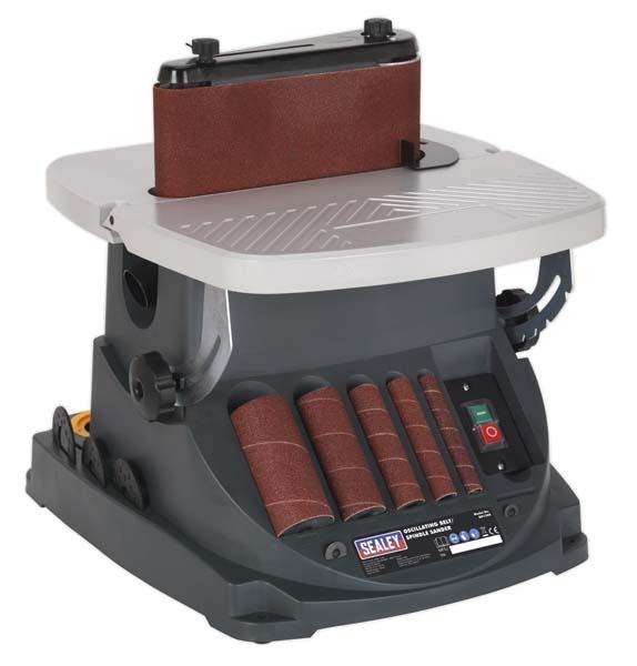 Sealey - SM1300  Oscillating Belt/Spindle Sander 230V