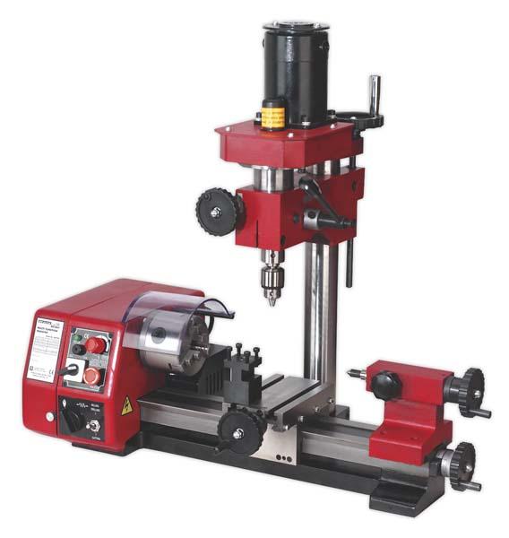 Sealey - SM2503  Mini Lathe & Drilling Machine