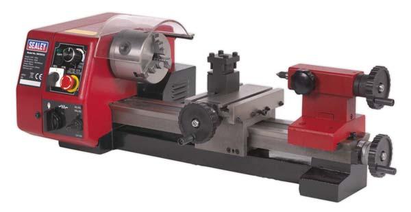 Sealey - SM2503A  Metalworking Mini Lathe 250mm