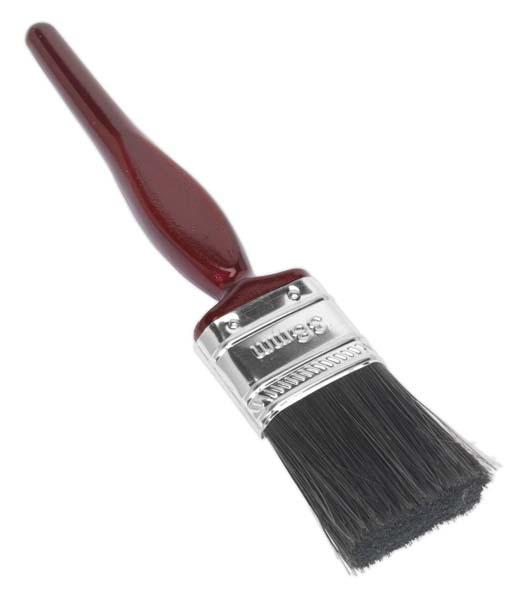 Sealey - SPB38S  Pure Bristle Paint Brush 38mm Pack of 10
