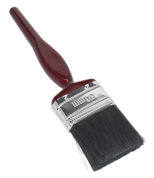 Sealey - SPB50S  Pure Bristle Paint Brush 50mm Pack of 10
