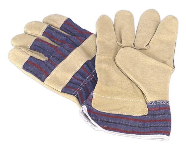 Sealey - SSP12  Rigger's Gloves Pair